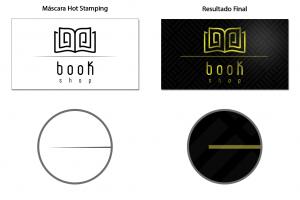 Efeitos que afinam linhas e Hot Stamping   Gráfica Paulista Cartões